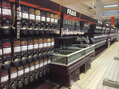 Auchan hldisplay for Meubles en vrac liquidation